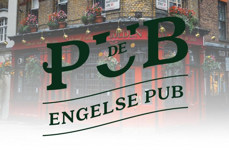 Kaart Engelse pub