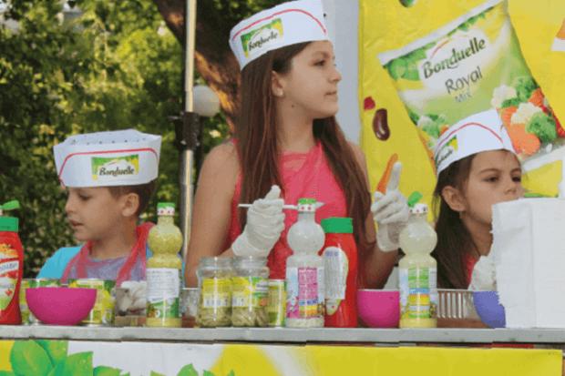 Bonduelle и Ути Бъчваров сътвориха кулинарен празник за децата