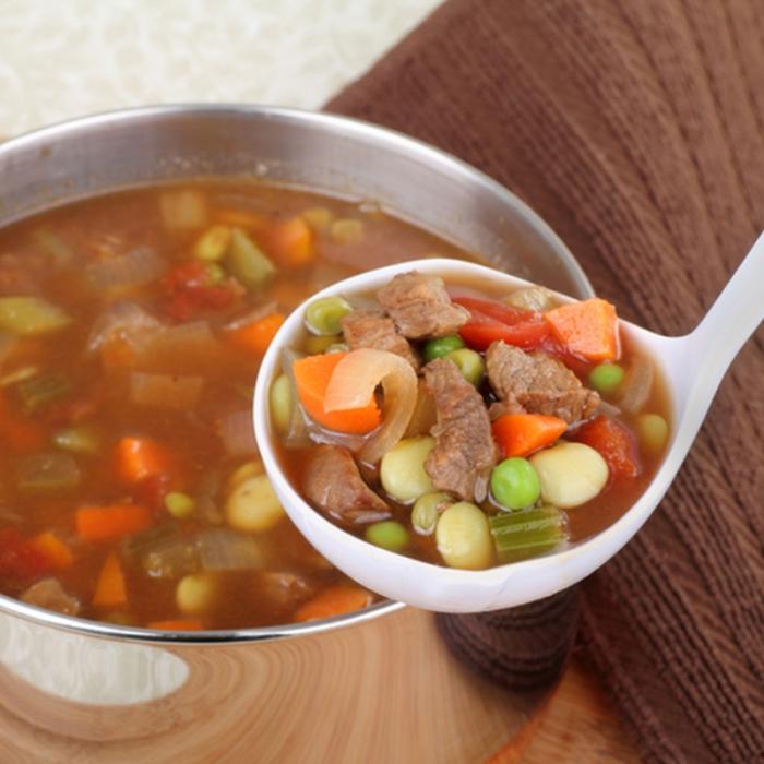 Неделна говежда супа