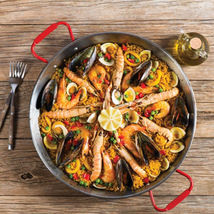 Паеля - Испанско ястие от Валенсия