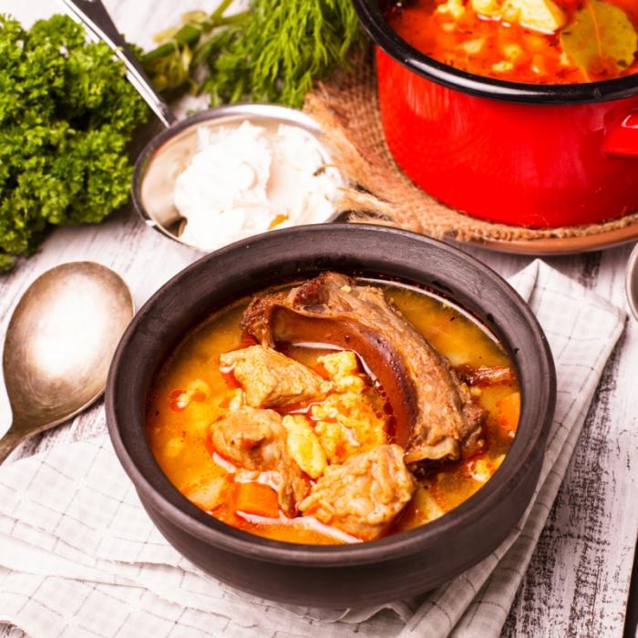 Бограч – супа гулаш