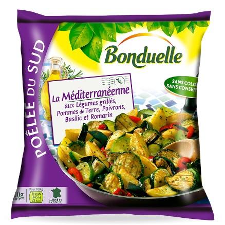 Σοταρισμένα ανάμικτα μεσογειακά λαχανικά