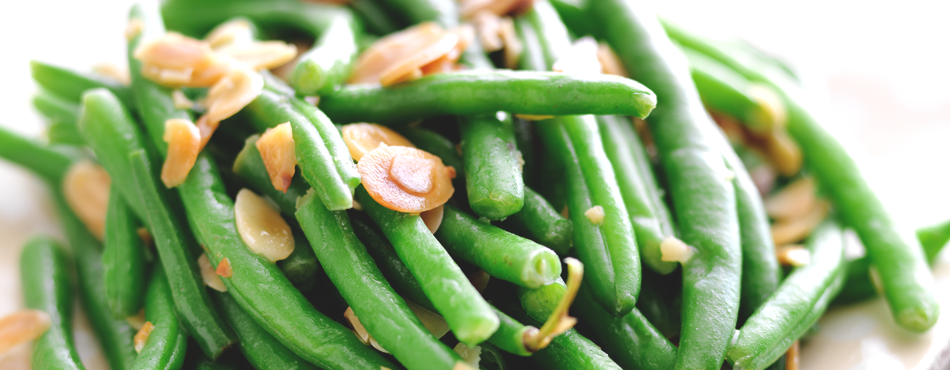 Green beans for lunch