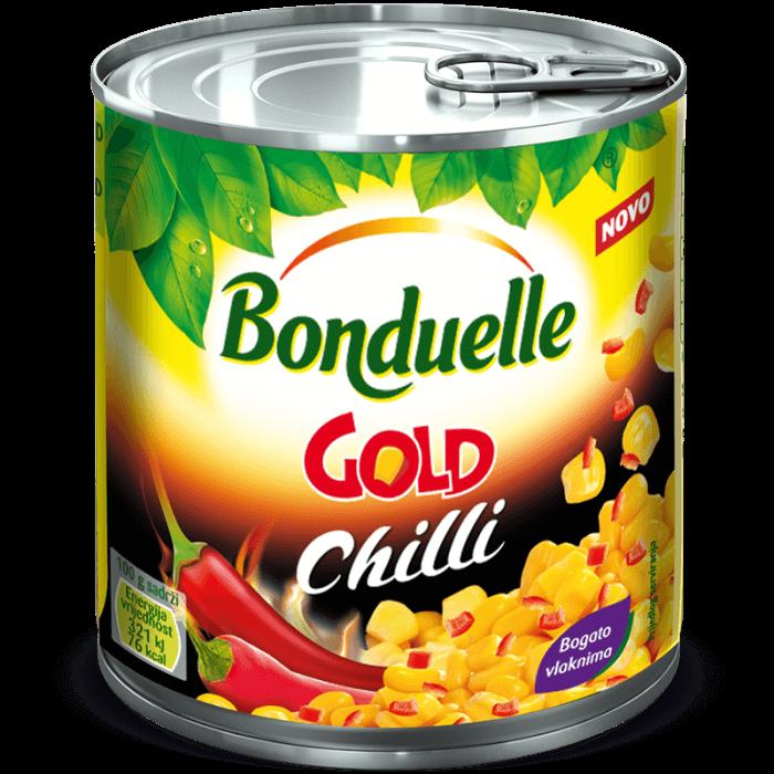 Kukuruz šećerac GOLD sa dodatkom chilija