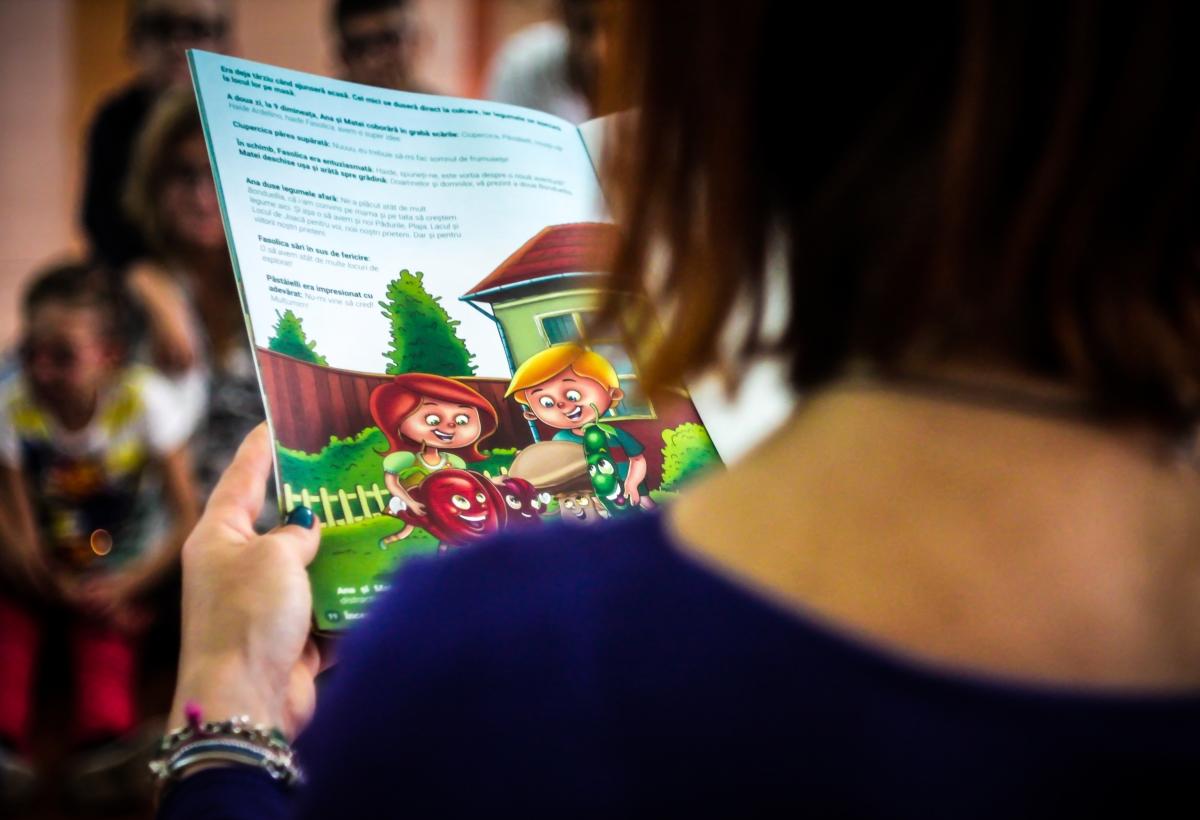 Bonduelle a lansat un audiobook dedicat copiilor cu deficiențe de vedere 2