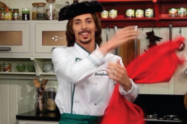 Суп-пюре по-іспанськи