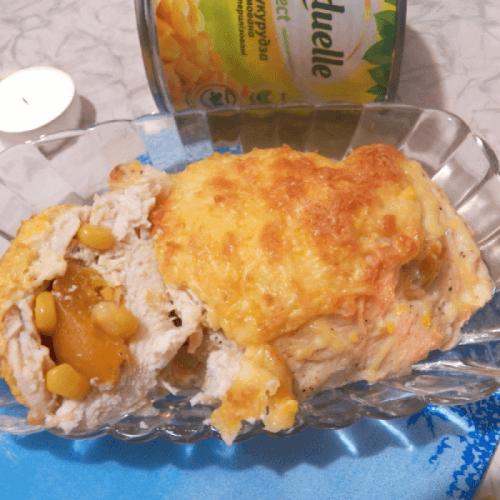 Філейка з кукурузкою і абрикосками