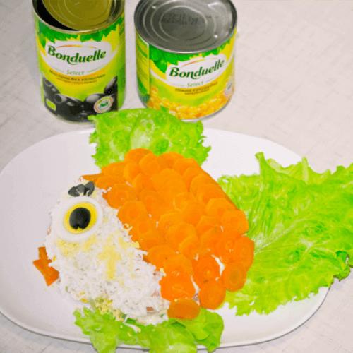 """Салат """"Золота рибка"""""""