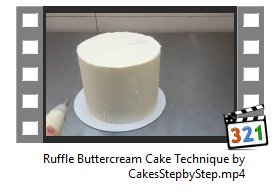 Ruffle Buttercream Cake Technique by CakesStepbyStep.PNG