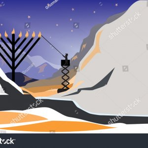 Stock-vector-an-orthodox-jewish-man-lighting-a-public-menorahהדלקה מרכזית וקטורי-1589681833