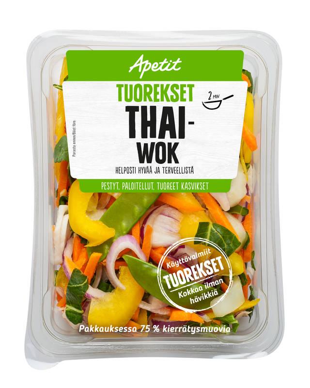 Apetit Tuorekset Thai wok 200 g
