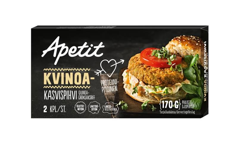 Apetit Kvinoa kasvispihvi 170 g