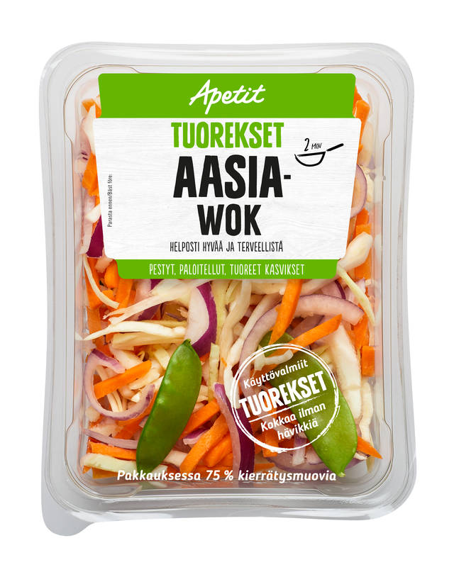 Apetit Tuorekset Aasia wok 200 g