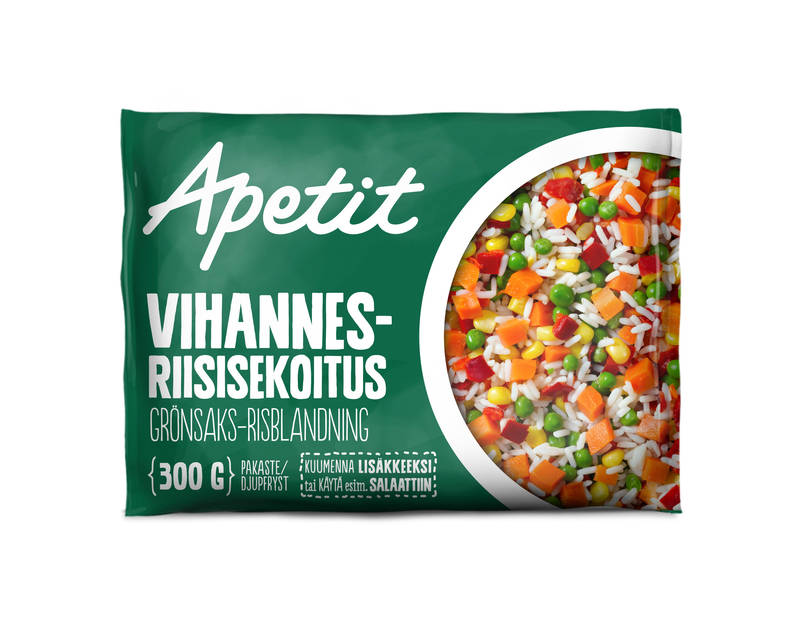 Apetit Vihannes-riisisekoitus 300 g