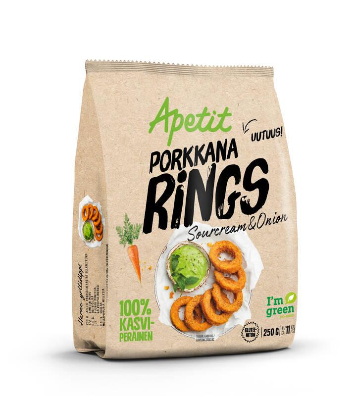 Porkkana Rings 250 g