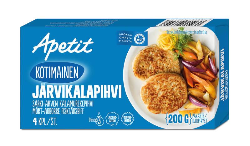 Apetit Kotimainen Järvikalapihvi 200 g