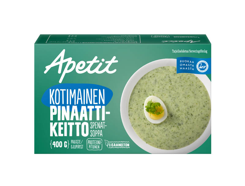 Apetit Kotimainen pinaattikeitto 400 g