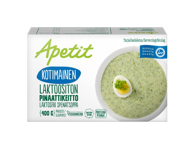 Apetit Kotimainen Laktoositon Pinaattikeitto 400 g