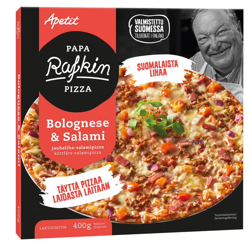 Papa Rafkin Bolognese&Salami 400 g