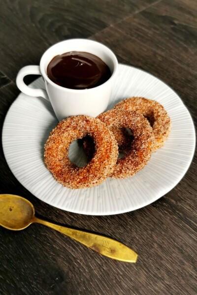 Rings Churroja, suklaakastiketta