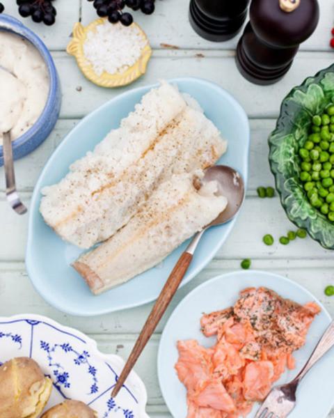 Lipeäkala ja sen lisukkeet