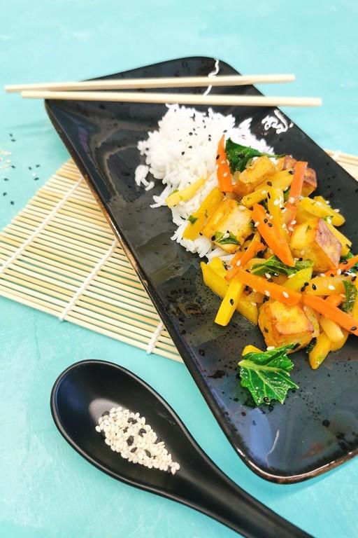 Teriyaki-kasvis-tofuwok