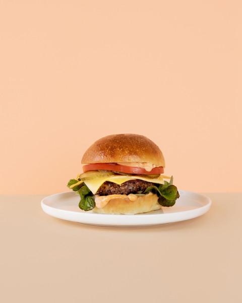 Hifistelijän herkku -burger