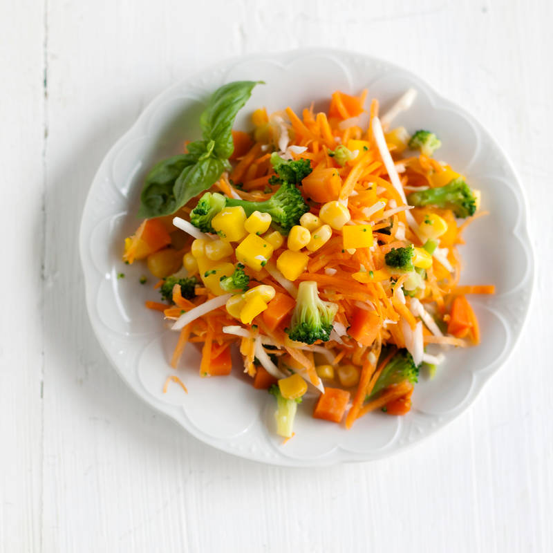 Puutarhurin porkkanasalaatti