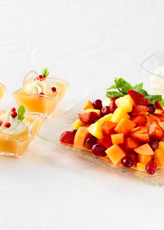 Omenakiisseli, hedelmä-marjatärkkelys