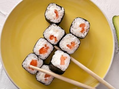 Ролл сливочный с лососем