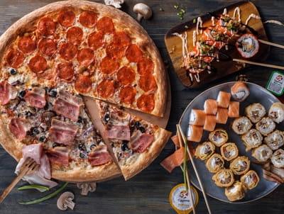 /КОЛБАС/А давайте ещё пиццу закажем!