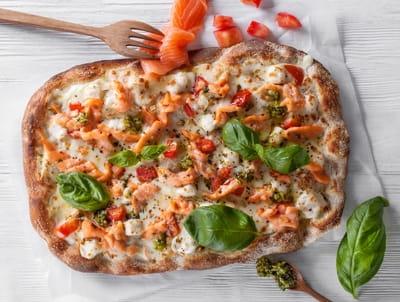 Римская с лососем