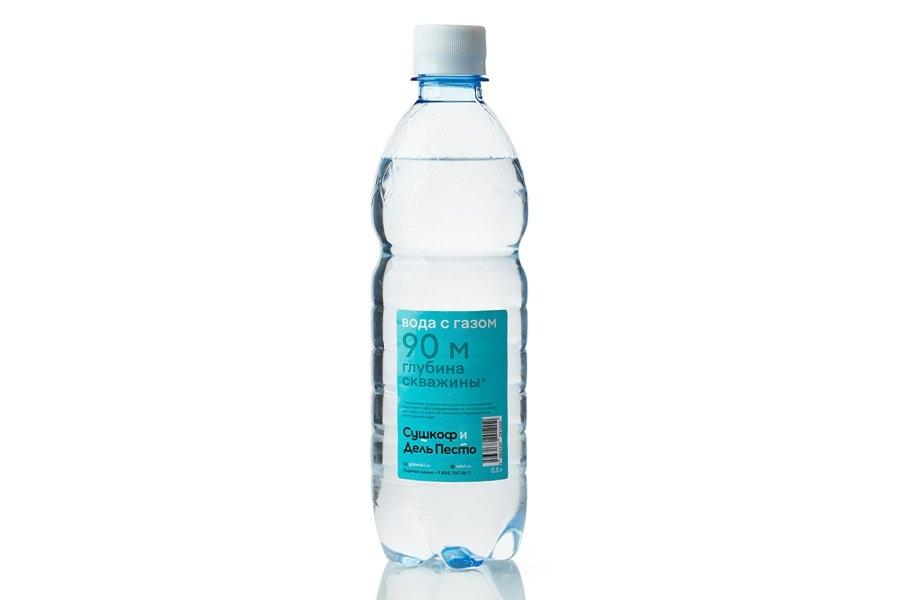 Вода с газом