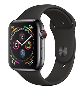 Offerta Apple Watch 4 44mm GPS Cellular acciaio su TrovaUsati.it