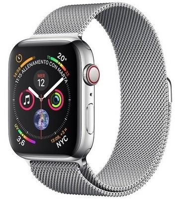 Offerta Apple Watch 4 44mm GPS Cellular acciaio su TrovaUsati.it