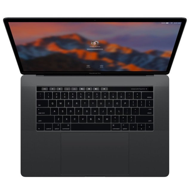 "Apple MacBook Pro 15"" Touch Bar Late 2016"
