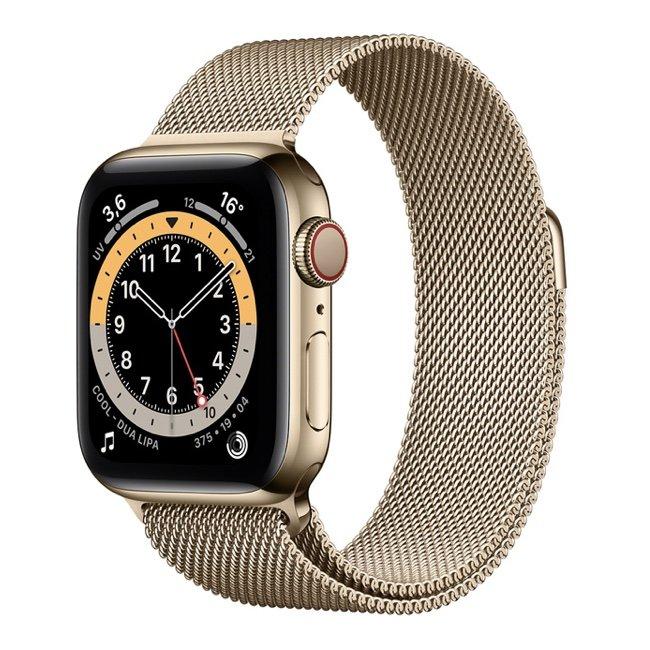 Apple Watch 6 44mm GPS Cellular acciaio