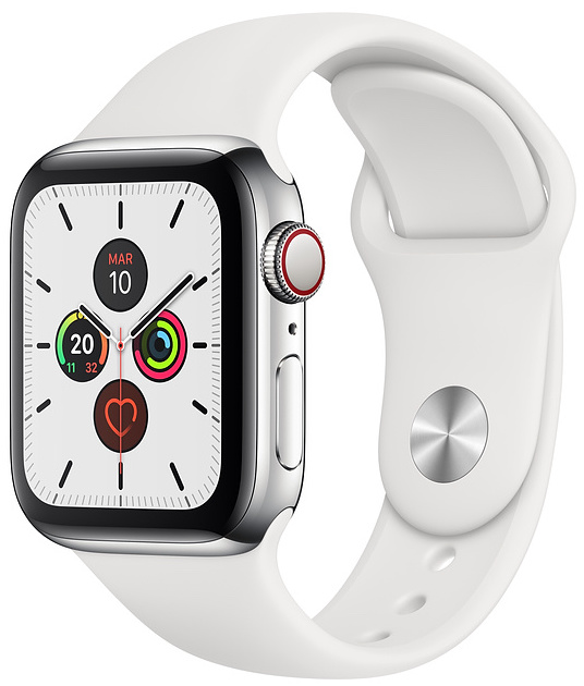 Offerta Apple Watch 5 40mm GPS Cellular acciaio su TrovaUsati.it
