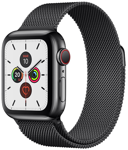 Offerta Apple Watch 5 44mm GPS Cellular acciaio su TrovaUsati.it