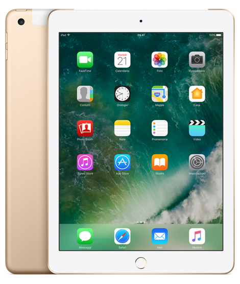 Offerta Apple iPad 9.7 32gb cellular 5a gen su TrovaUsati.it