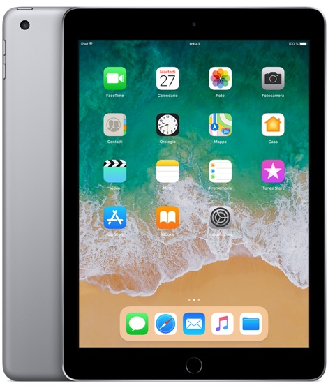 Offerta Apple iPad 9.7 128gb wifi 6a gen su TrovaUsati.it