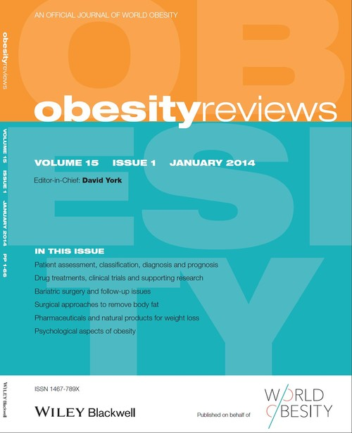Obesity reviews journal
