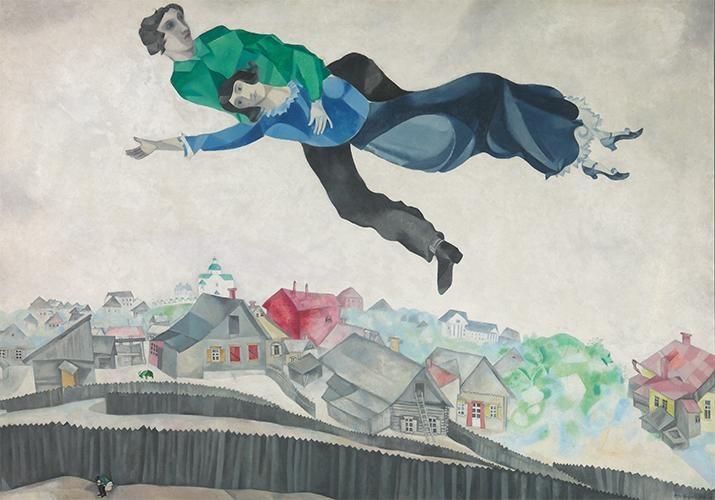 Guided tour Chagall, Lissitzky, Malevitch in French