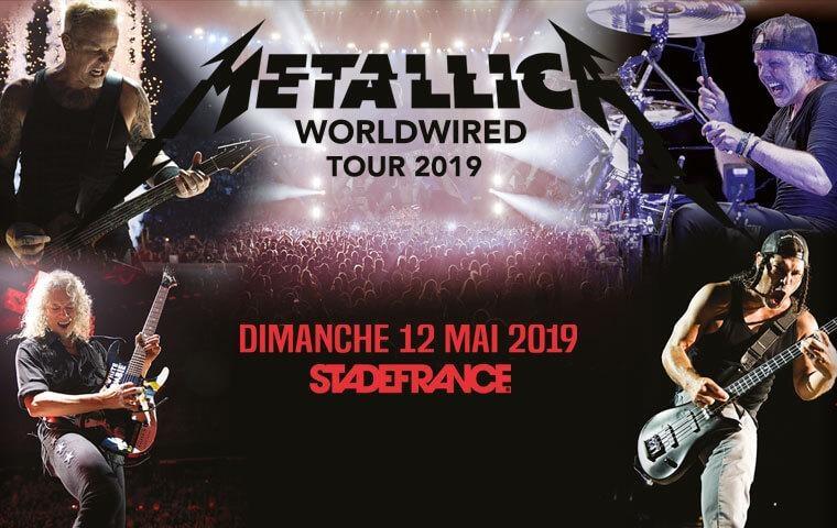 Metallica - Pack Premium -  12 May 2019
