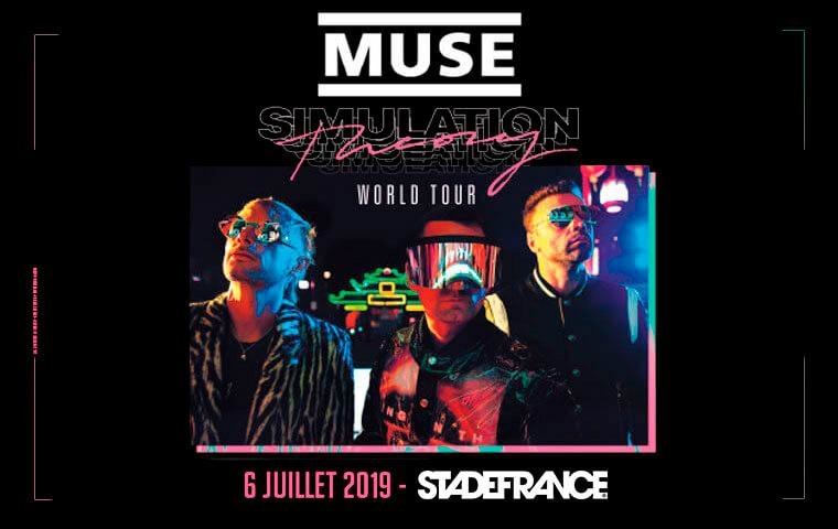 Muse - Pack VIP Ephémère - Samedi 06 juillet 2019