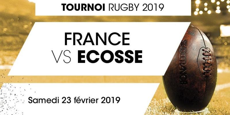 France / Ecosse - Salon VIP - 23.02.2019