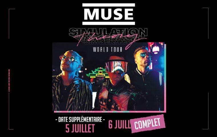 Muse - Pack VIP Ephémère - Vendredi 05 juillet 2019