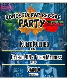 Donostia Rap-Reggae party