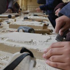 L'atelier du tailleur de pierre