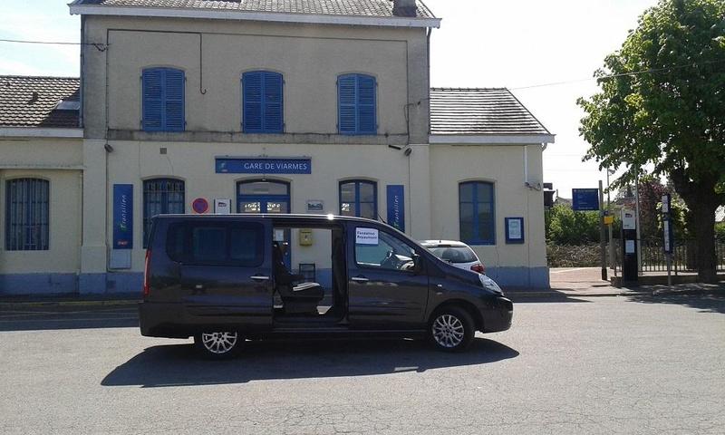 Navette Retour Abbaye de Royaumont - Gare de Viarmes